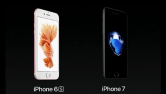 Apple: ¿en qué se diferencian el iPhone 7 y el iPhone 6s?