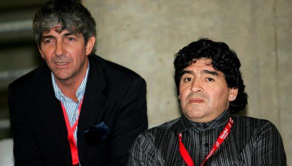 Las vidas de Rossi y Maradona convergieron en decenas de ocasiones, dentro y fuera de las canchas. (Foto: EFE)