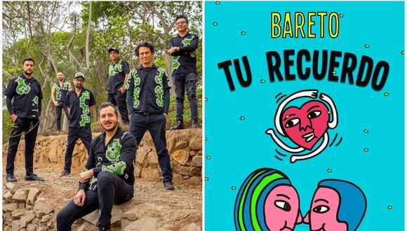 """""""Tu Recuerdo"""" es una canción que encuentra a la banda Bareto en una nueva etapa de su carrera después de la salida de su vocalista Javier Arias (en el centro de la imagen). En su reemplazo entrarán Jaír Montaño y Giuseppe Horna. (Foto: Bareto)"""
