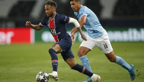 Neymar buscará la victoria con PSG ante Manchester City a como de lugar. El astro brasileño declaró para el canal oficial del club parisino. (Foto: EFE)