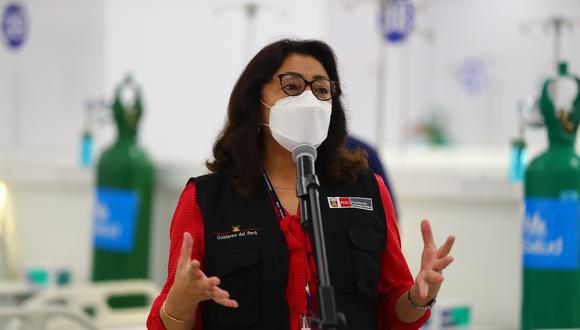 """""""No podemos permitir que se pierda una sola dosis de vacuna"""", señaló la presidenta del Consejo de Ministros. (Foto: Archivo de GEC)"""