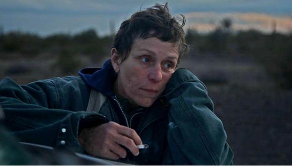 """Frances McDormand. La actriz estadounidense, ganadora de dos premios Oscar, volvió a sorprender al mundo gracias a su participación en """"Nomadland"""". (Foto: 20th Century Studios)"""