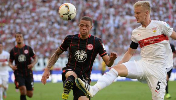 Con Zambrano, Eintracht goleó 4-1 al Stuttgart por Bundesliga