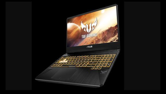 La TUF Gaming FX505DV es una de las últimas laptops de Asus. (Foto: Asus)