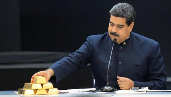 Minerven: Estados Unidos sanciona a empresa estatal de Venezuela que opera en el sector del oro. (Reuters).