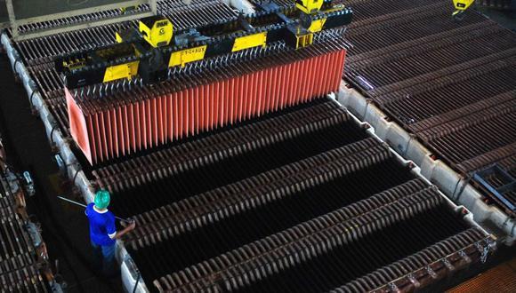 La SNMPE indicó que las exportaciones del metal rojo significaron el 48.5% de los despachos mineros, que ascendieron a US$ 10,177 millones de enero a junio último. (Foto: GEC)