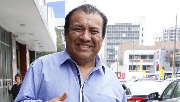 Manolo Rojas, actor cómico. (Foto: archivo El Comercio)