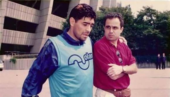 ¿Qué le preguntarías a Daniel Arcucci sobre Maradona si lo tuvieras al frente? | Foto: La Nación