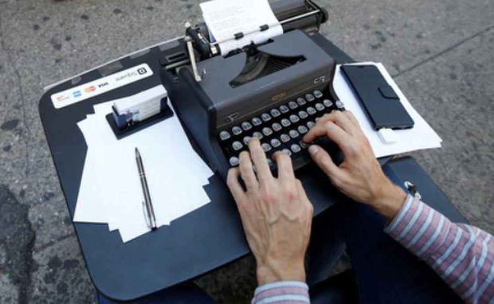 El diseño de los teclados se inspiró en los que tenían las máquinas de escribir. (Foto: Reuters)
