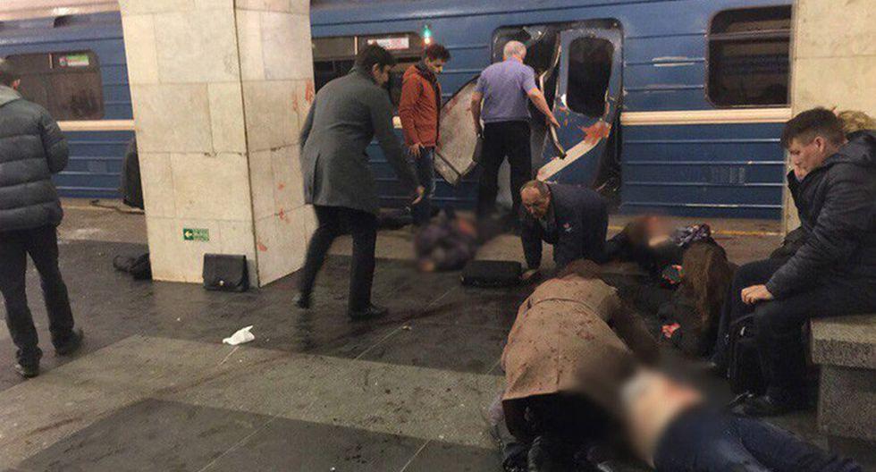 Rusia: Tragedia en el metro de San Petersburgo [FOTOS] - 4