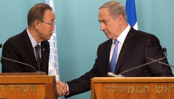 Ban Ki-moon advierte en Israel contra uso excesivo de la fuerza