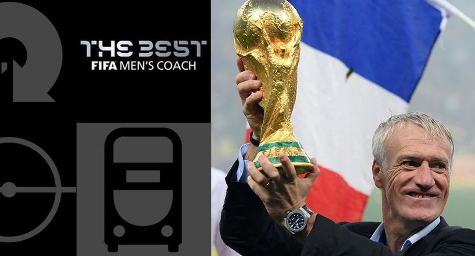 FIFA The Best EN VIVO: Didier Deschamps ganó el premio al mejor entrenador. (Foto: The Best)