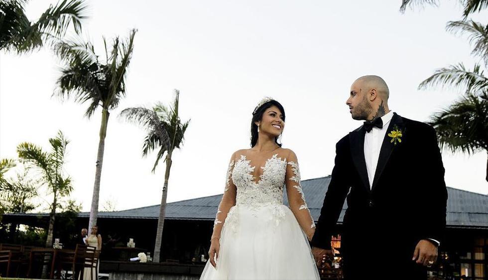 Después de casarse en febrero de 2017, Nicky Jam y Angélica Cruz han puesto fin a su matrimonio. (Instagram)