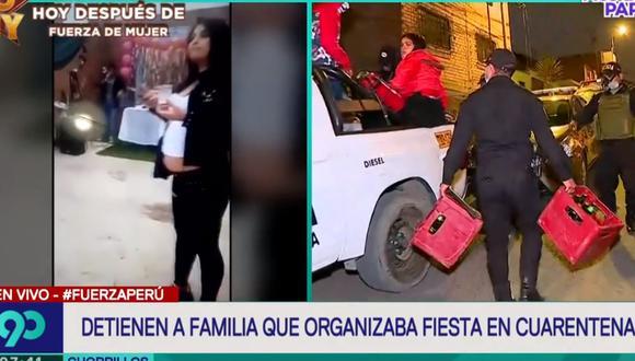 La Policía intervino a 15 personas e incautó cajas de cerveza. (Latina)