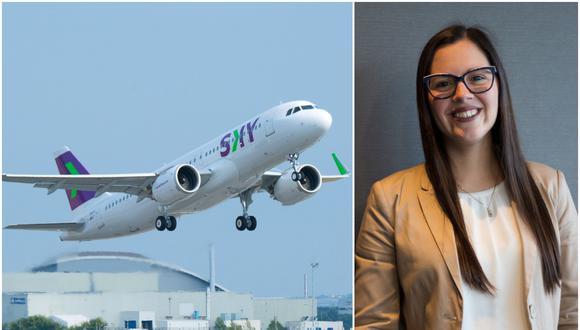 Sky Airline aprobó aplicar el home office de forma permanente en sus operaciones en Chile y Perú. Hablamos con Anahí Montoya, gerente de Personas de Sky en Perú. (Foto: Sky)
