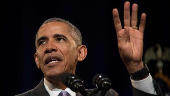 """Obama no lamenta su discurso de la """"línea roja"""" sobre Siria"""