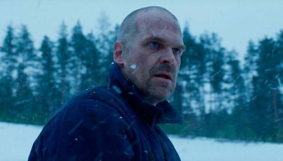 Hopper es un gran policía, pero no puede ser tan fuerte como para superar todos los elementos de una base secreta rusa (Foto: Stranger Things / Netflix)