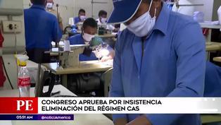 Congreso aprueba por insistencia eliminación del régimen CAS en el sector público