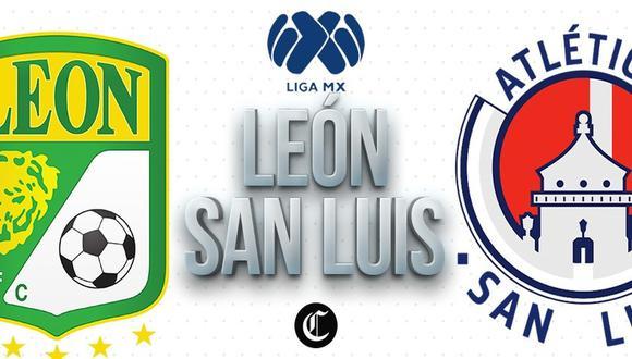 León vs. Atlético San Luis se miden en la cuarta jornada de la Liga MX. | Foto: GEC
