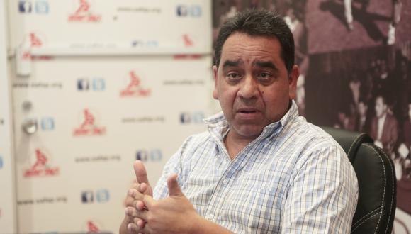 Juan Baldovino es el abogado de la Agremiación de Futbolistas. (Foto: USI)