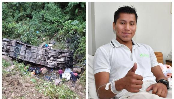 Sobreviviente al accidente de Chapecoense se salvó de morir tras desbarrancarse un bus en Bolivia
