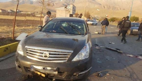 Mohsen Fakhrizadeh fue atacado en su automóvil con explosivos y disparos, según reportes de las agencias estatales iraníes. (Reuters).