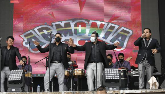 Armonía 10 en el Huaralino, domingo 25 de julio del 2021. Foto: César Bueno para el Grupo El Comercio.