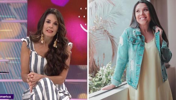 Rebeca Escribens defiende a Tula Rodríguez de quienes la critican por viajar con su hija tras la muerte de su esposo. (Foto: América TV / Instagram @tulaperu).