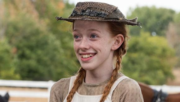 Amybeth McNulty es el nombre de la actriz que interpreta a Anne en la exitosa serie de Netflix (Foto: Anne with an E / Netflix)