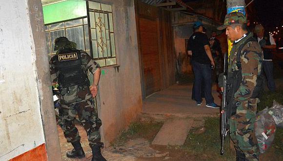 Detienen a 2 policías y funcionarios implicados en tala ilegal