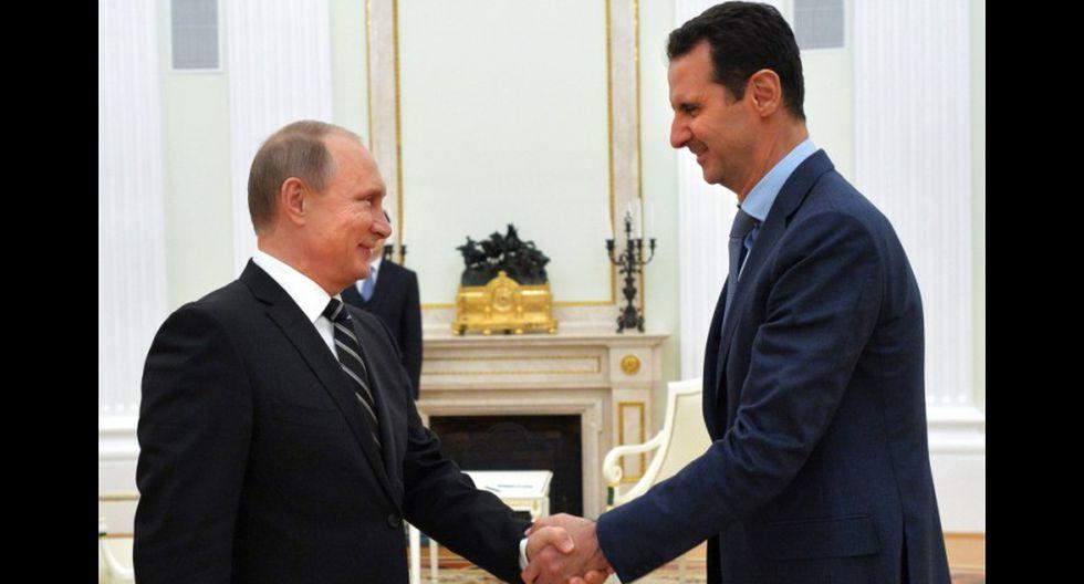 Pese al ataque químico, Putin continuará apoyando a Al Assad