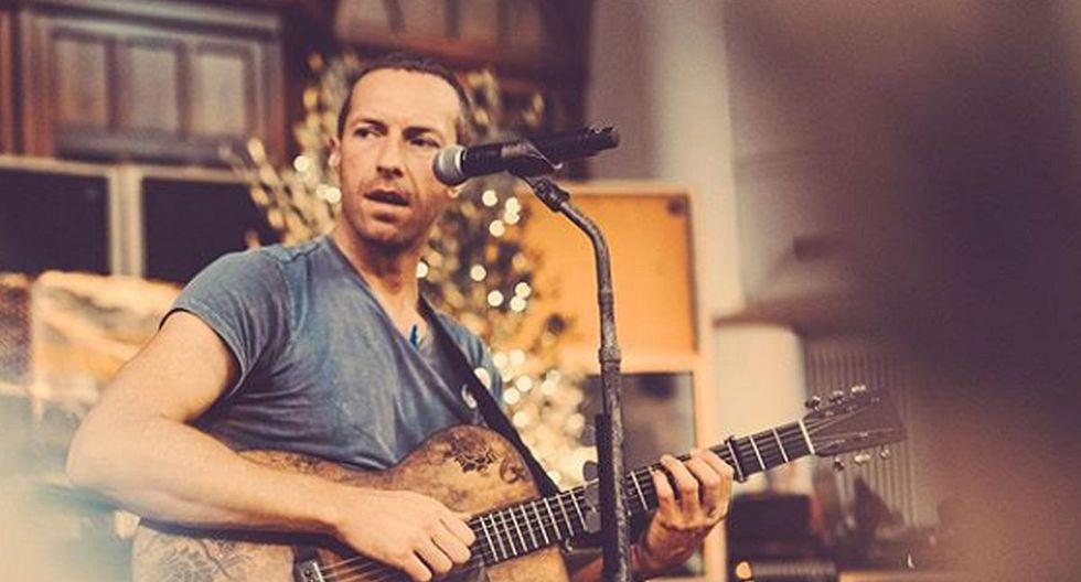 El vocalista de Coldplay aseguró que su próximo concierto será sostenible y trabajarán varios años para lograrlo. (Foto: Instagram)