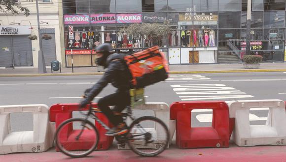 El Gobierno ha impuesto una serie de restricciones por Semana Santa. El servicio de delivery seguirá funcionando, pero bajo un horario estricto.  (Foto: Miguel Yovera/ GEC)
