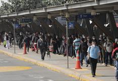 ATU exhorta a empresas concesionarias del Metropolitano a no suspender el servicio este martes