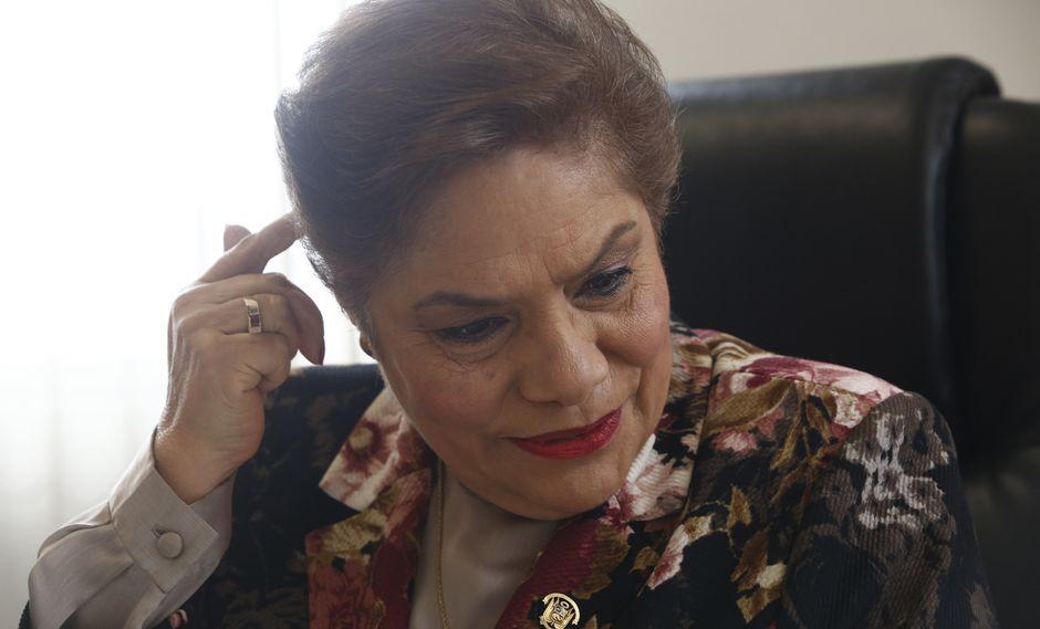 Luz Salgado defendió la contratación de Walter Jibaja como asesor de Fuerza Popular. (Foto: USI)