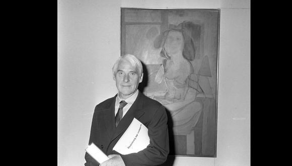 Willem De Kooning  (Róterdam, 24 de abril de 1904-Long Island, 19 de marzo de 1997) es un magnífico exponente del expresionismo abstracto. (Foto: Archivo Nacional de Holanda)