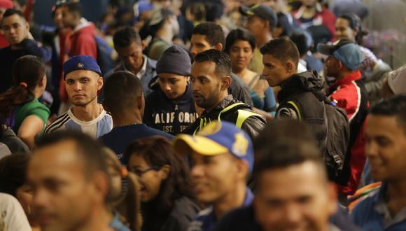 Estas son las cifras actualizadas de la migración venezolana en el país