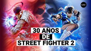 30 Años De Street Fighter 2 the world warrior