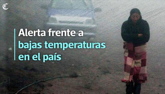 Temperatura llegó hoy a los 10 grados bajo cero en Arequipa