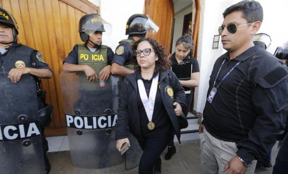 Fiscal Rocío Sánchez investiga el caso Los Cuellos Blancos del Puerto. (Foto: El Comercio)