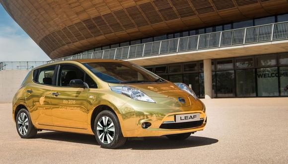Río 2016: Nissan regalará Leaf dorados a ganadores británicos