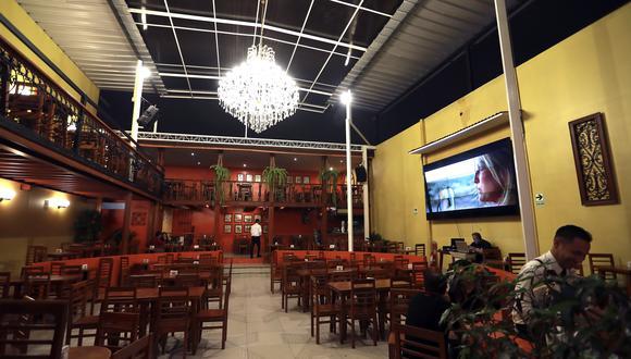 Solo 2,000 restaurantes abrirán en un primer momento. (Foto: Lino Chipana | GEC)