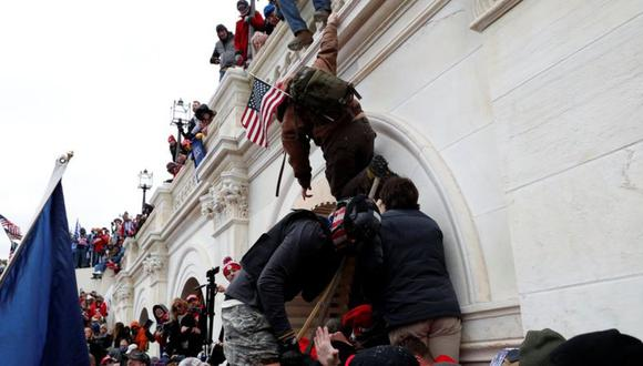 Los simaptizantes de Trump se enfrentaron a muy poca resistencia por parte de las autoridades. (Foto: Reuters)