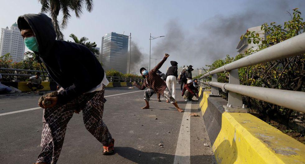 Los disturbios comenzaron tras semanas de feroces discursos por parte del candidato presidencial perdedor, el ex general Prabowo Subianto. (Foto: EFE)