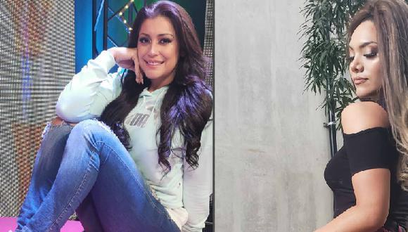 Karla Tarazona responde a Isabel Acevedo. (Fotos: Instagram)