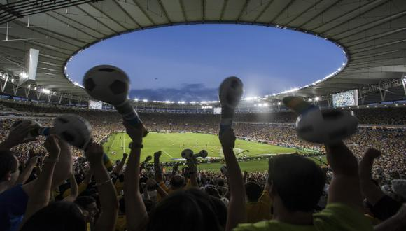 Un generador solar ayuda a iluminar el estadio Maracaná