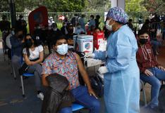 ¿Cuáles son las regiones donde se ha vacunado a una menor parte de la población?