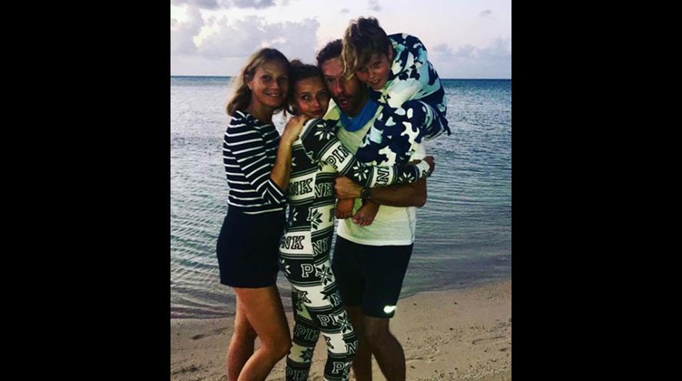 Gwyneth Paltrow y sus hijos. (Foto: Instagram)