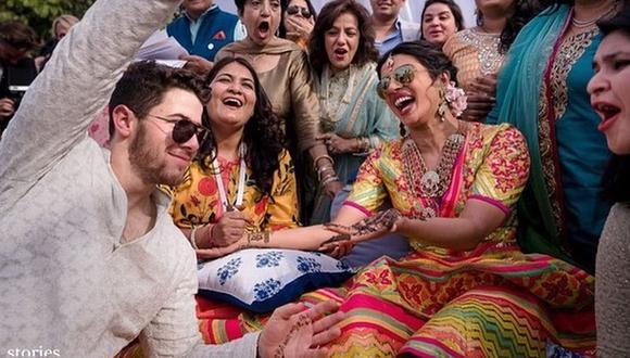 Priyanka Chopra y Nick Jonas se casaron el último fin de semana en el palacio de Umaid Bhawan ubicado en la ciudad de Jodhpur, en el estado de Rajastán, al noroeste de la India. (Foto: @nickjonas)