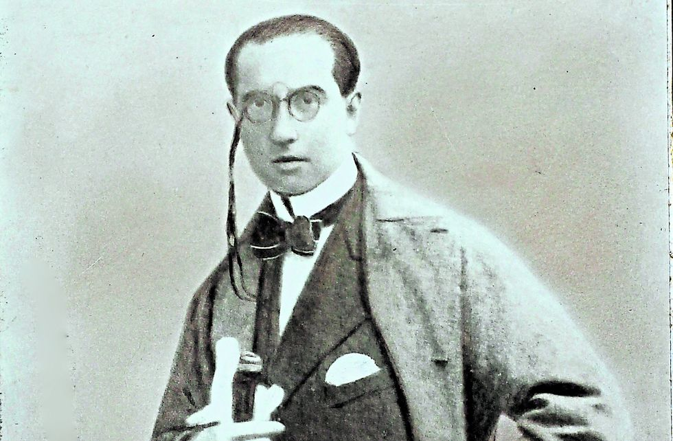 Abraham Valdelomar en retrato de Eugenio Courret, archivo que guarda la Biblioteca Nacional del Perú (Foto: BNP)